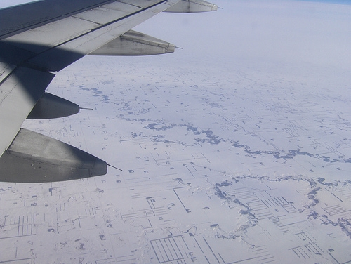 snow-from-an-airplane-window