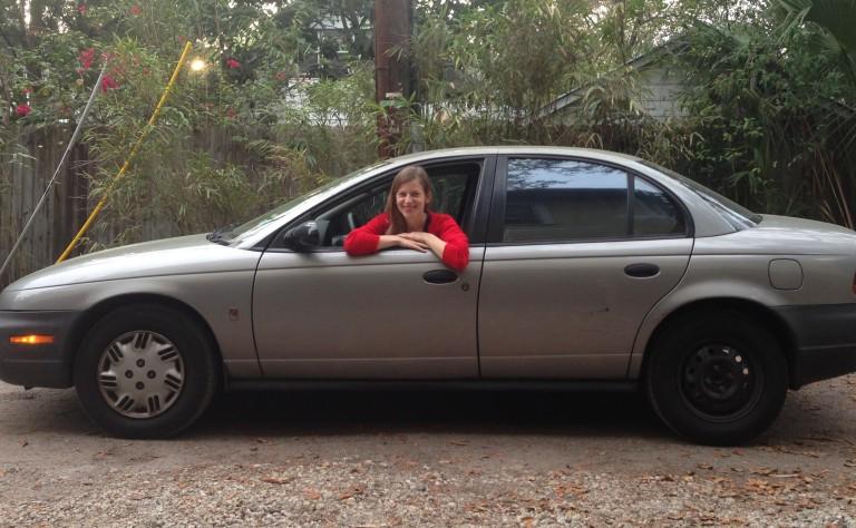 Helen Anne's car