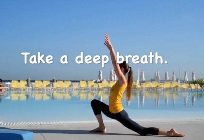 Take a deep breath... and watch the videos!