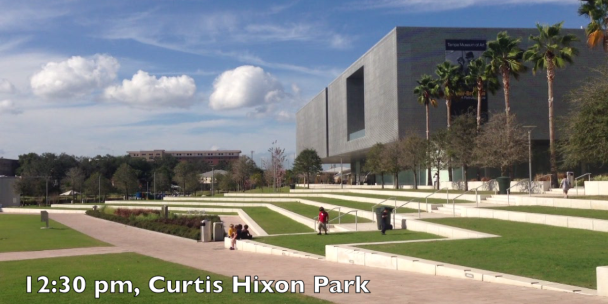 Curtis Hixon Park in Tampa, F