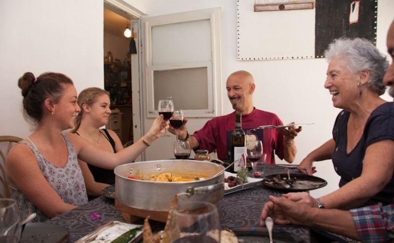 host Juliano in Kiryay Anavim, Israel: http://www.eatwith.com/#!/offering/31
